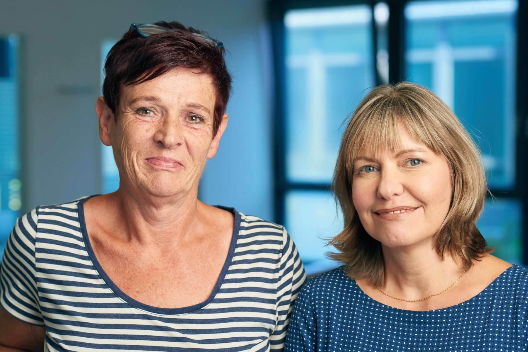 Jutta Kistner und Claudia Schaarschmidt   VITAL Zahnärzte Karlsruhe